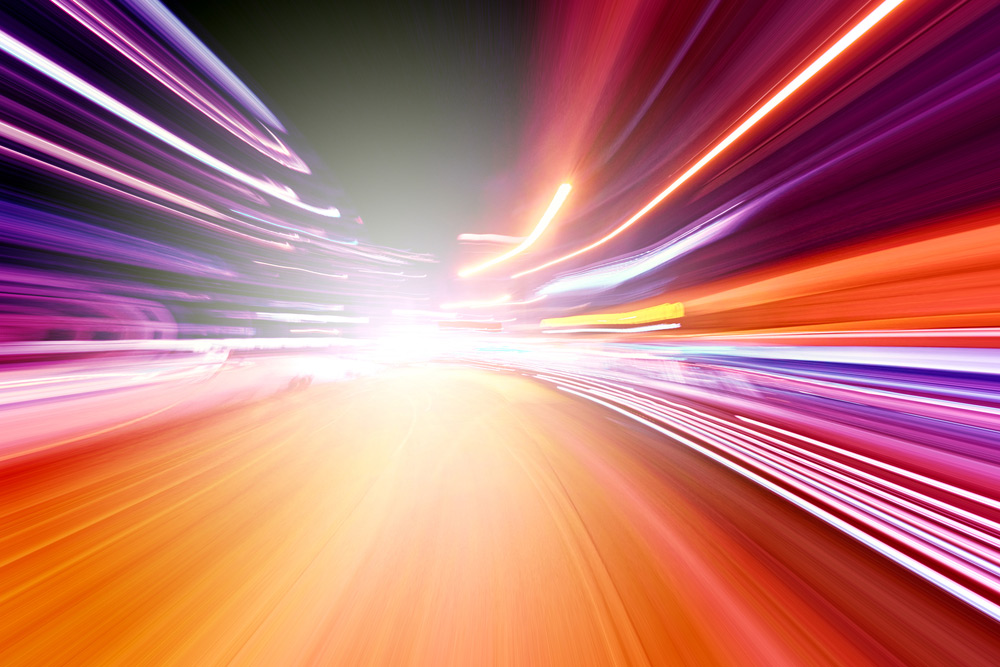 de Snelheid van Helende Energie en/of Gedachten