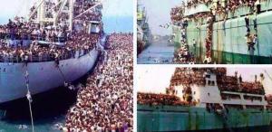 vluchtelingen uit Europa